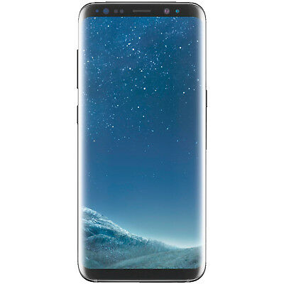 SAMSUNG Galaxy S8, Smartphone, 64 GB, Midnight Black