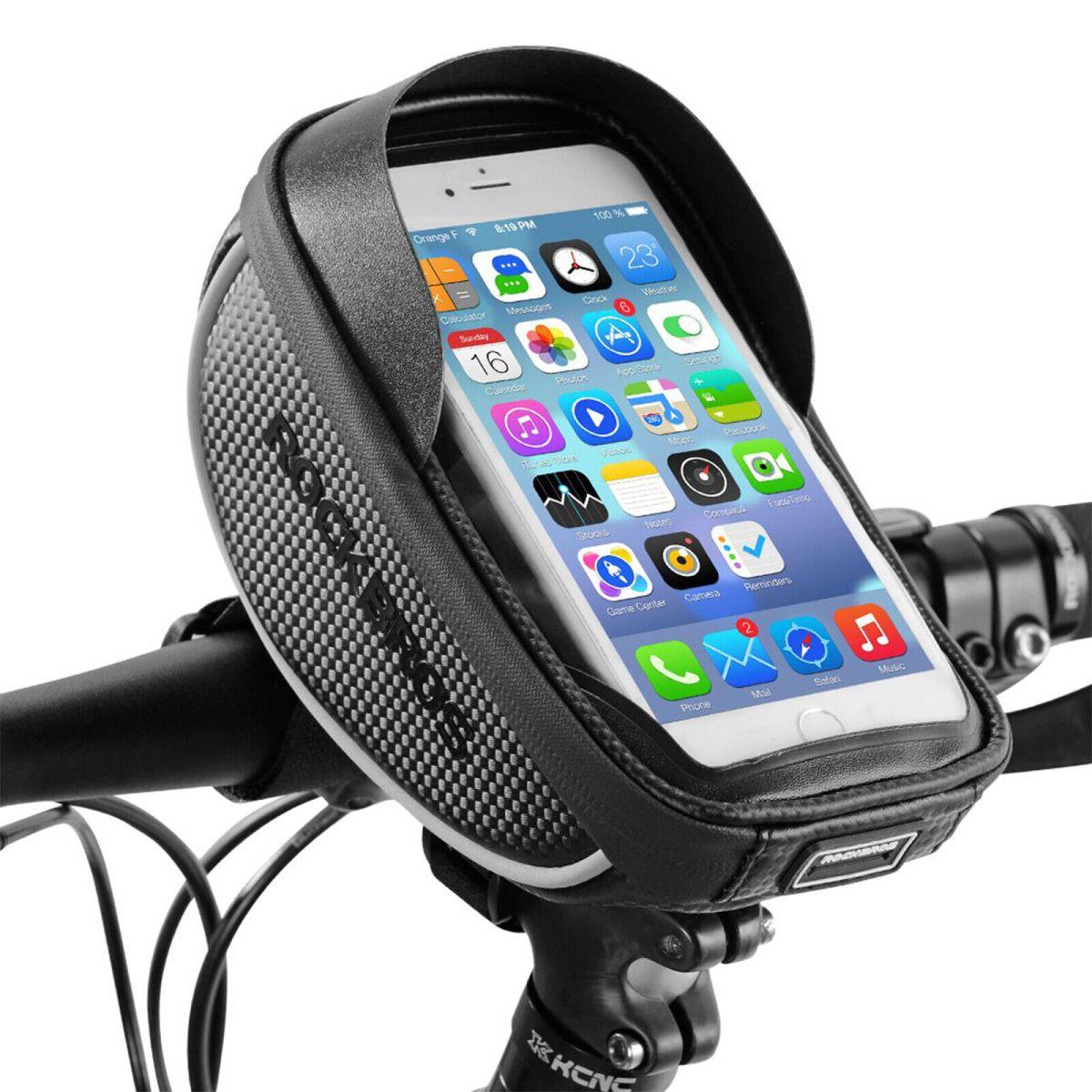 ROCKBROS Rahmentasche Fahrradtasche Handyhalterung Handyhalter für 6.00'' Handy