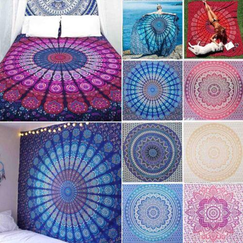 Hippie Indisch Mandala Tapisserie Wandteppich Wandbehang Yoga Matte Strand Mode