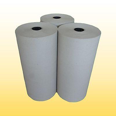 3 Rollen Schrenzpapier Packpapier 50 cm breit x 250 lfm  80gm² 1 Rolle=10kg