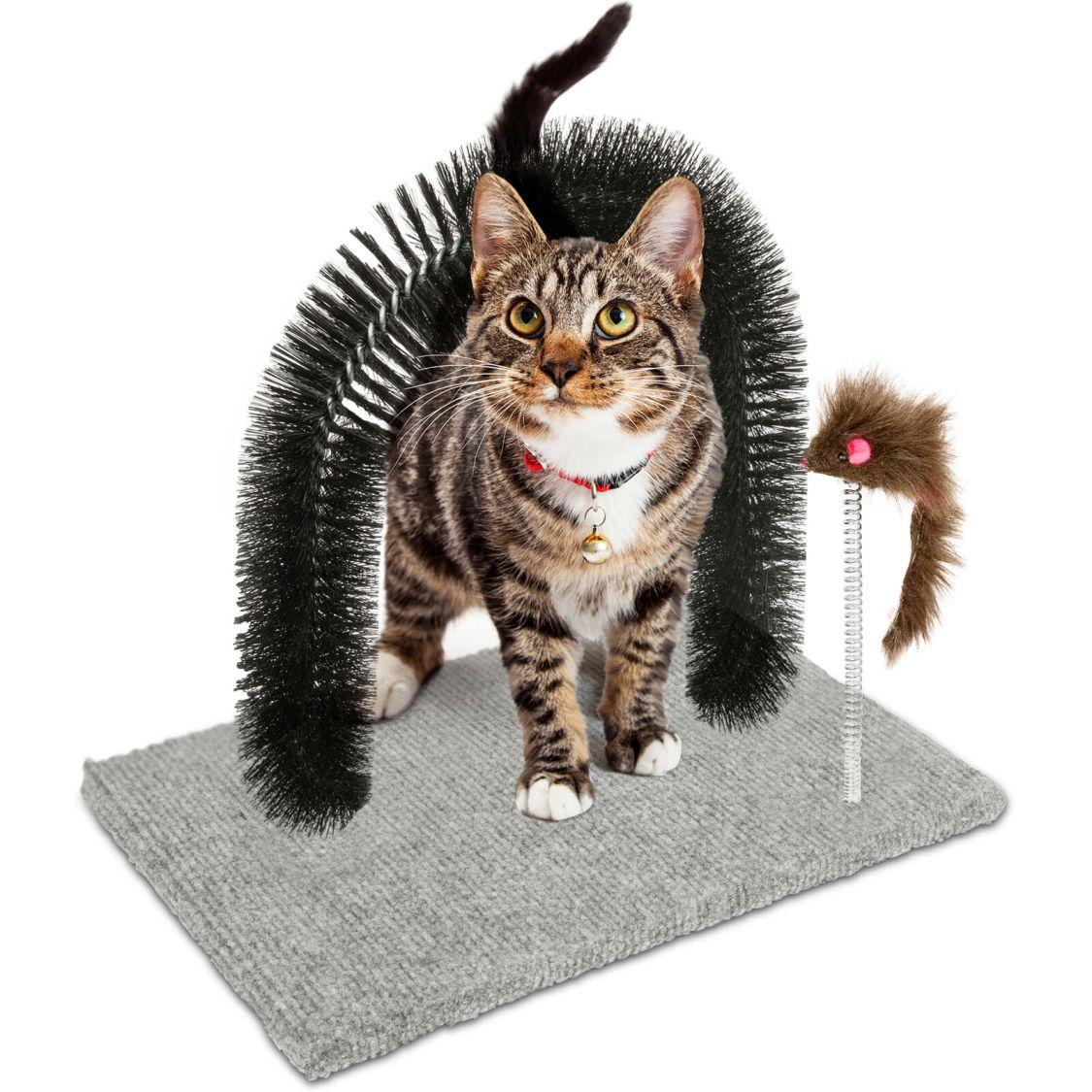Kratzbaum Massage Spielzeug Maus Katzenspielzeug Katze Spielbaum Enthaarung Fell