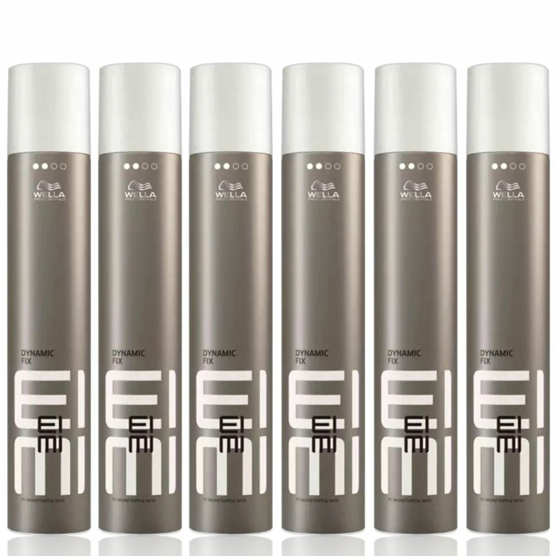 6x500ml Wella Professionals Eimi Dynamic Fix-45 Sek.Haarspray Deutsche WareOVP