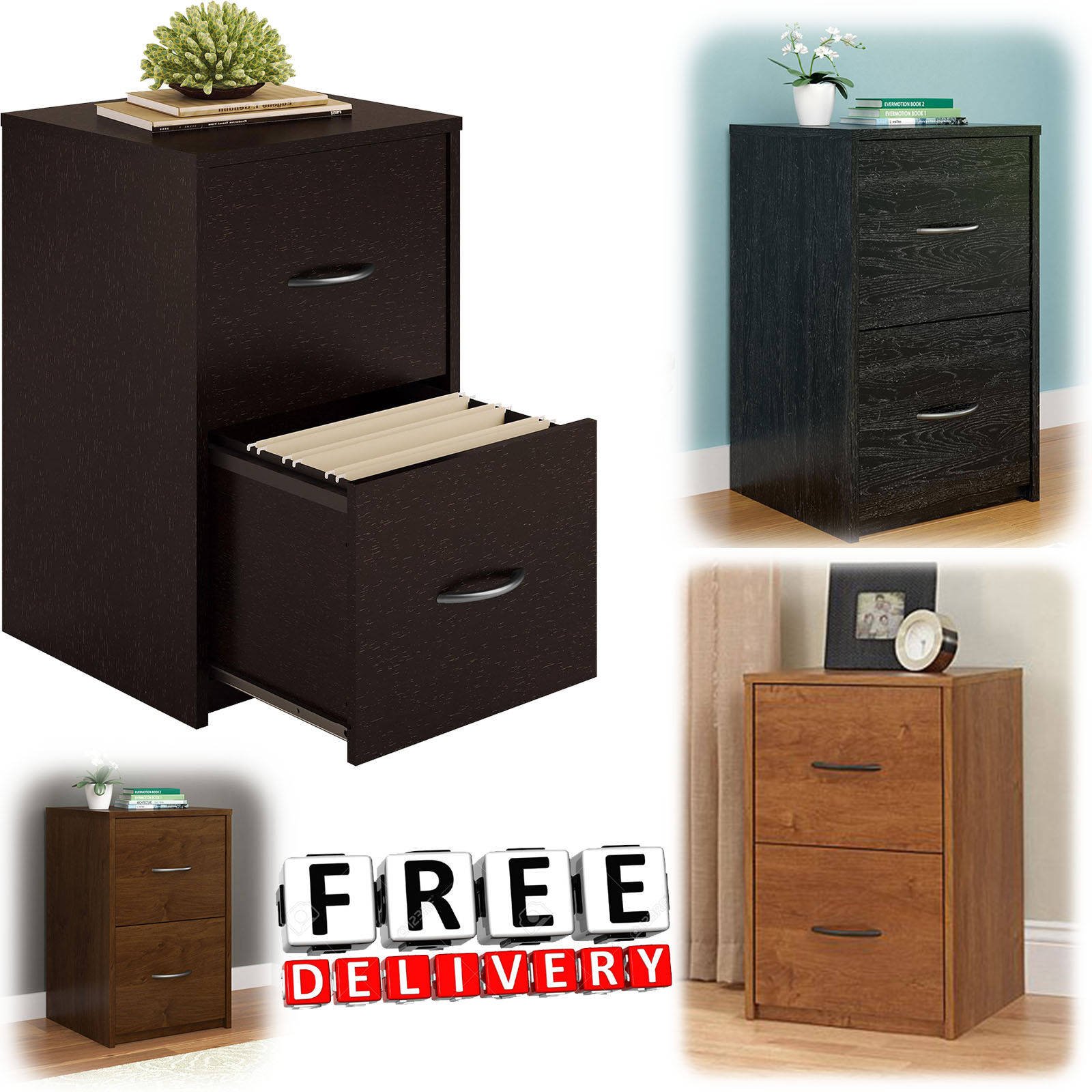 4 Drawer File Cabinet Home Office Documents Storage Furniture Durable For Sale Online Ebay