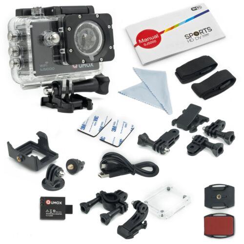 Qumox SJ5000 WIFI schwarz Action Sport Cam Kamera Waterproof Helmkamera DV