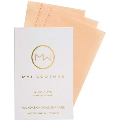 150 Blatt Mai Couture Foundation Powder Puder Papier Nude Glow /6-0318/