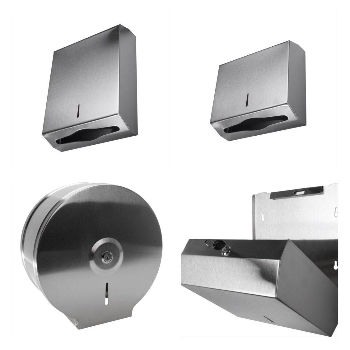 Edelstahl Handtuchspender PapierspenderToilettenpapier Papierhandtuchspender WC