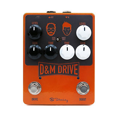 Keeley D&M Drive Overdrive Boost New guitar effect pedal