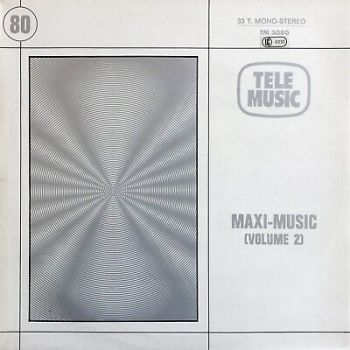 TELE MUSIC ‎– Maxi-Music (Volume 2) TM 3080 FRENCH DISCO LIBRARY FUNK & SOUL LP
