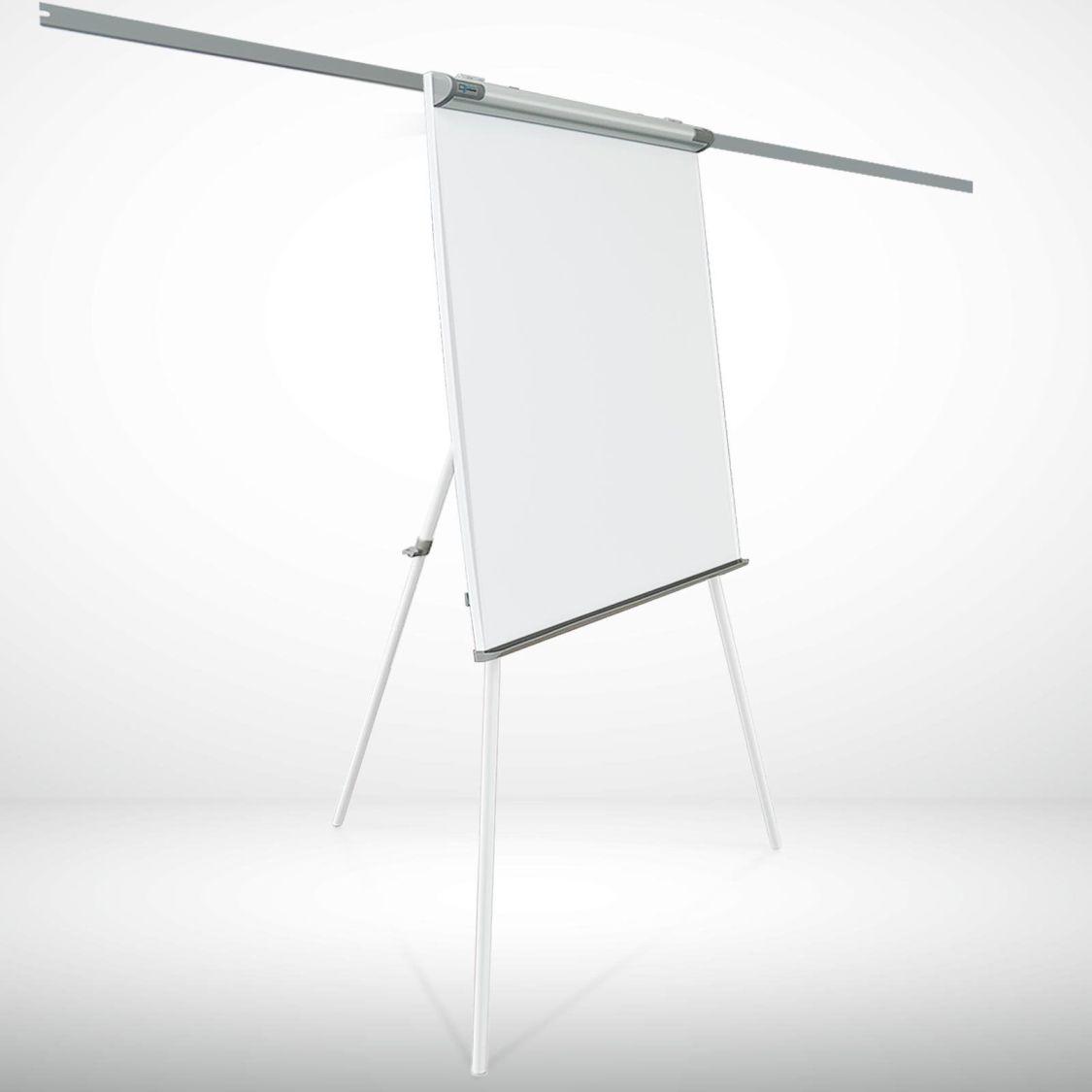 master of boards Flipchart magnetisch beschreibar mit Seitenarmen Top Qualität