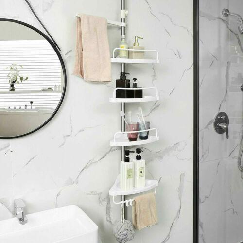 details sur etagere armoire meuble d angle rangement support pour salle de bain reglable