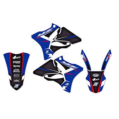 adesivi moto grafiche Yamaha Yz 125 / 250 2002 - 2014 2231N blackbird Dream 4