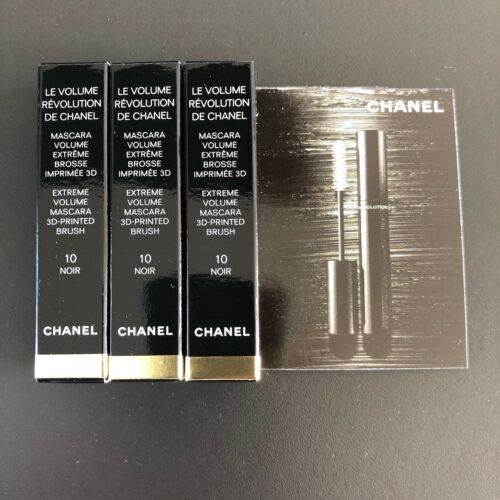 CHANEL Wimperntusche Mascara schwarz 3 x 1,5g = 4,5 g Volume Revolution Neu!