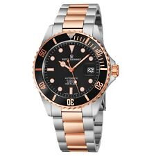 Revue Thommen Men's Diver Black Dial Stainless Steel Automatic Watch 175...