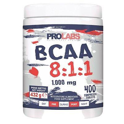 Prolabs BCAA 8:1:1 400 cpr verzweigtkettige Aminosäuren 811 Extra Leucin+
