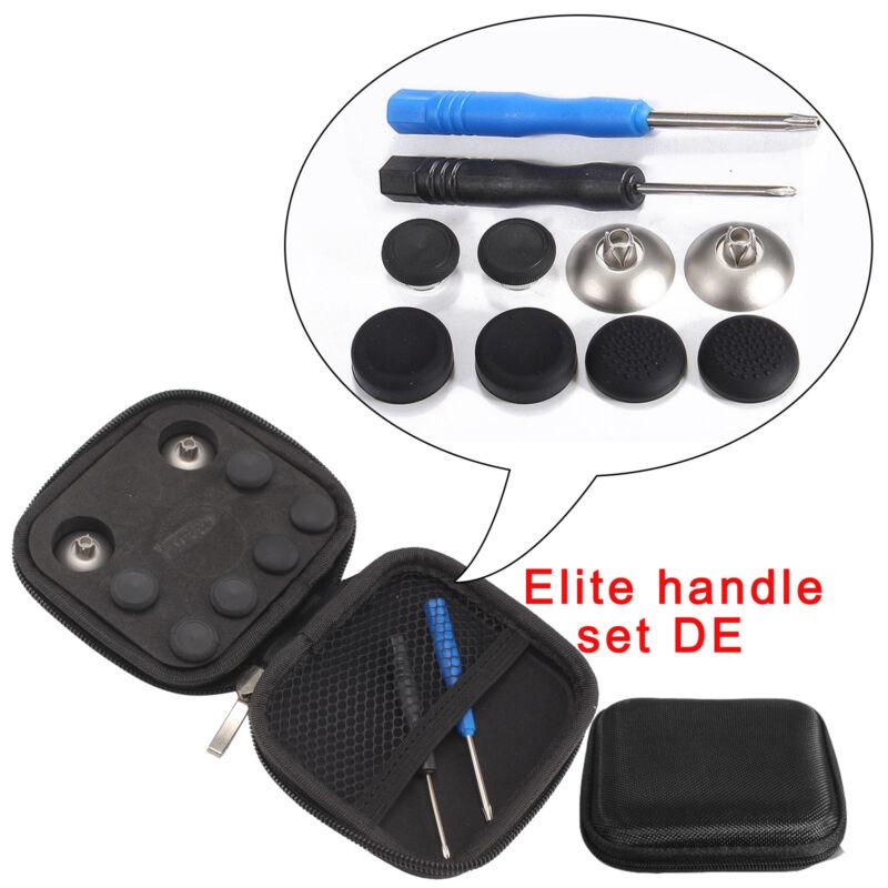 NEU PS4 & XBOX ONE Elite Thumbsticks Magnetisch Höhen Schwarz / Aluminium DE