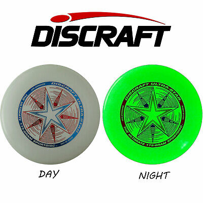 Discraft, Ultrastar 175g, Ultimate Frisbee, Nightglow