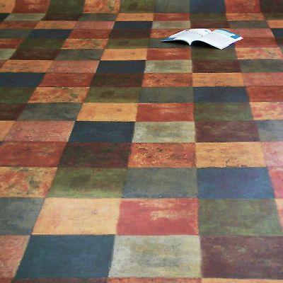 PVC Vinyl Bodenbelag Tarkett 260 Latina Multicolor alle Breiten 11,95€/m²