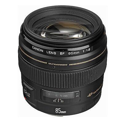 Canon EF 85mm f/1.8 USM Lens w/FREE Hoya UV Filter *NEW*