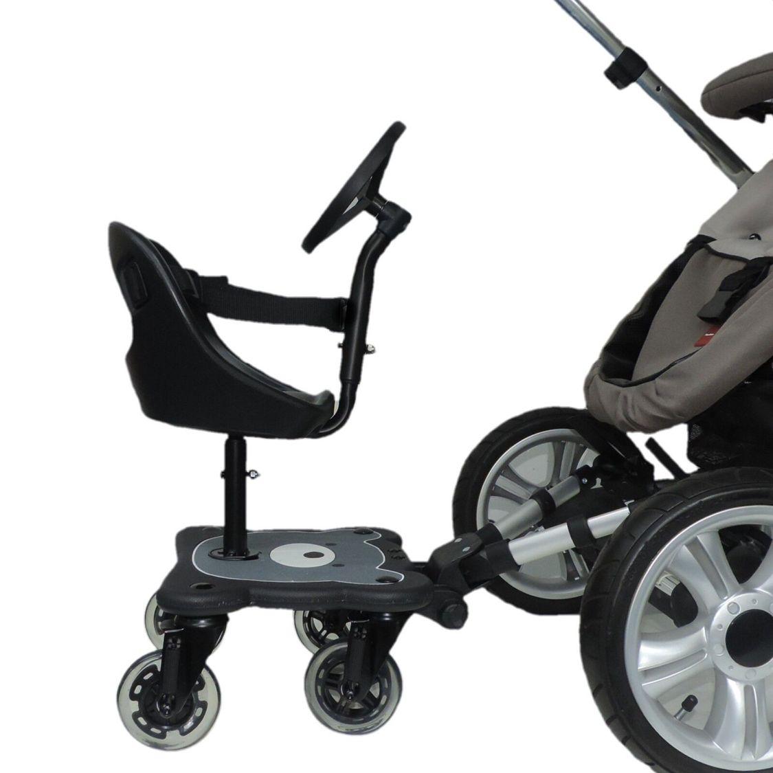 EICHHORN Cozy Rider - mit Sitz - ohne Sitz - 4 Räder oder 2 Räder