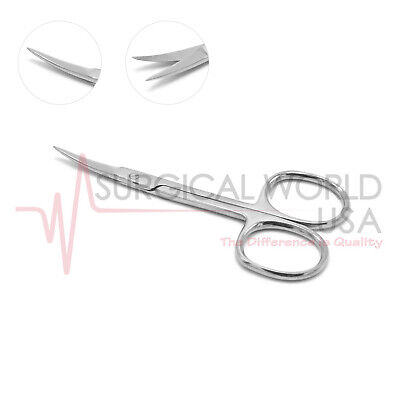 Nail Cuticle Scissors Curved For Manicure Eyebrows Baby Nails Grooming Skin Care