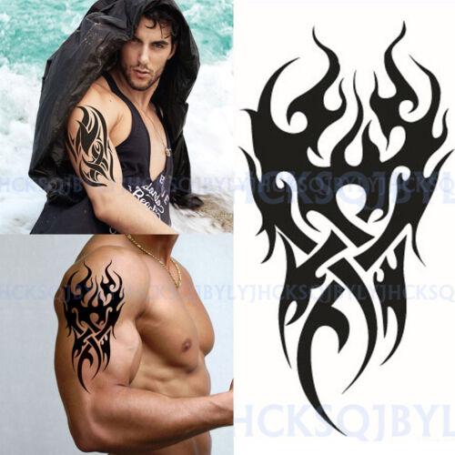Hohe Männer Tattoo Wasserdicht Totem Körper Arm Bein Kunst Aufkleber Abnehmbar