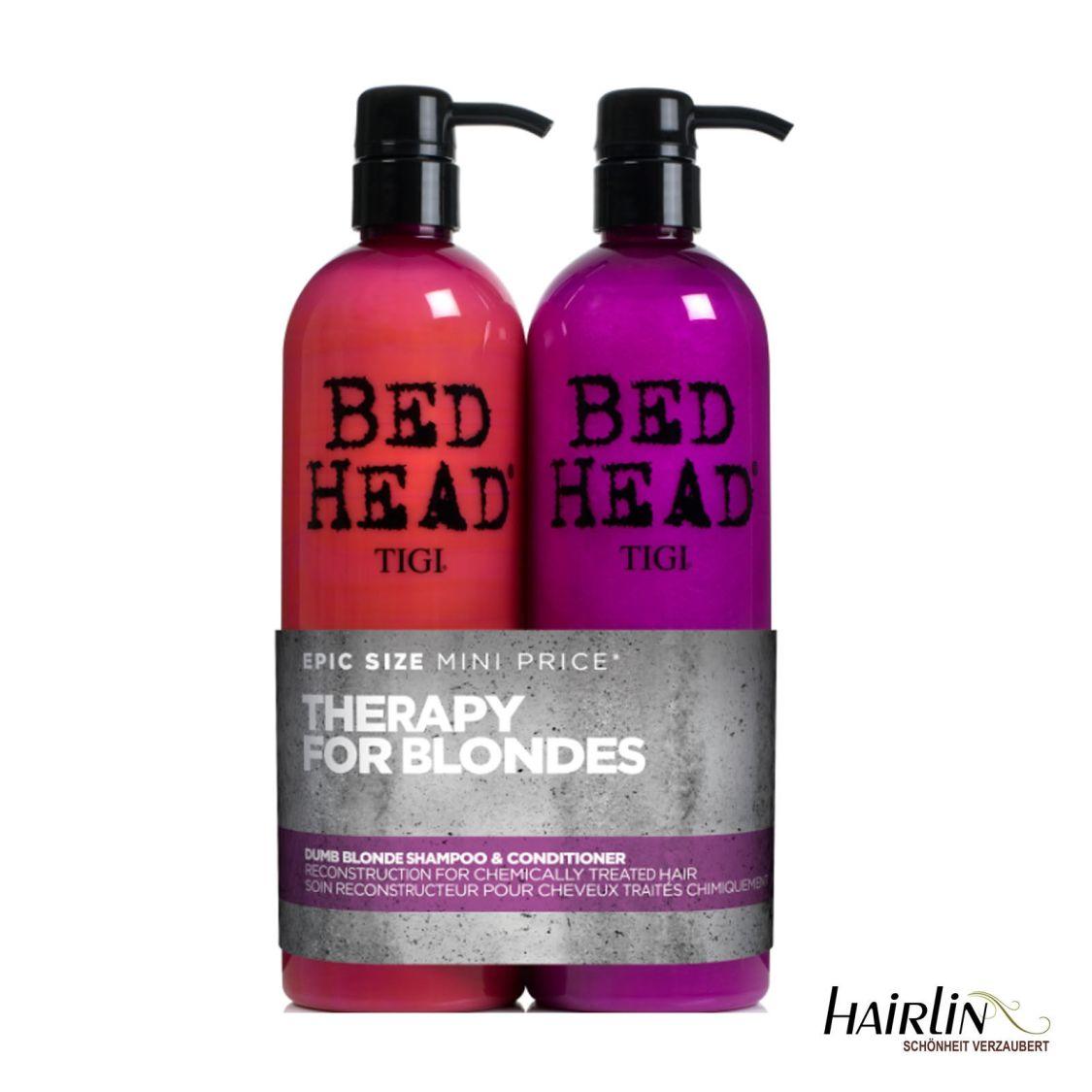 Tigi Bed Head Dumb Blonde Tween Set Shampoo & Conditioner je 750 ml