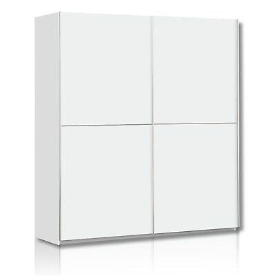 Schwebetürenschrank WINNER - weiß - 170 cm breit