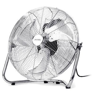 Brandson Metall Windmaschine mit neigbarerem Ventilator-Kopf | 45 cm Ø