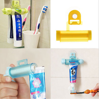 Automatische Zahnpasta Spender Tubenpresse Halter Toothpaste Zahnbürstenhalter