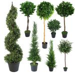 Best Artificial 3ft 90cm Topiary Spiral Boxwood Buxus Outdoor Tree Garden For Sale Ebay