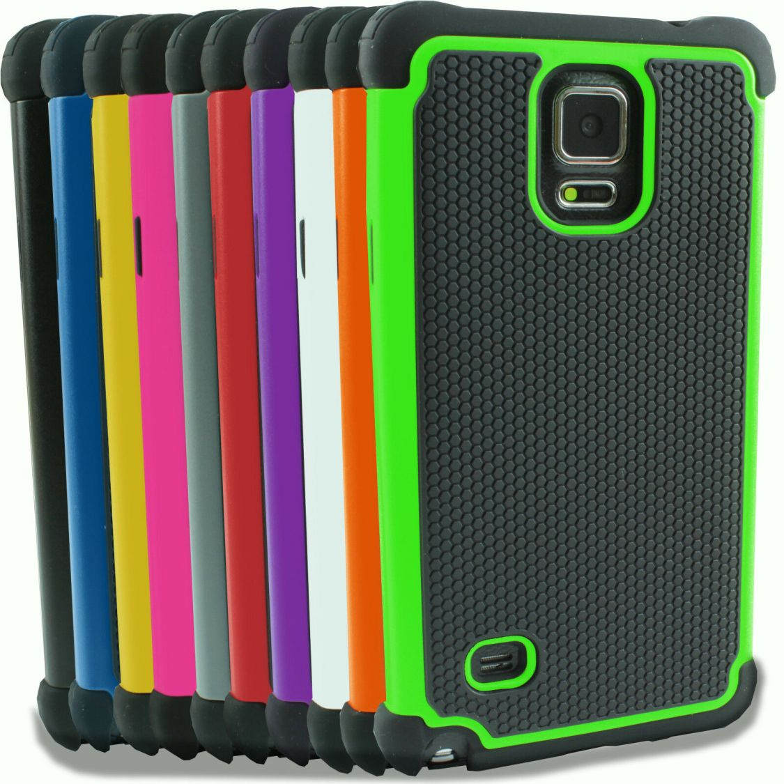 Für Samsung Galaxy Note, S4 S5 S6 S7 Mini Outdoor Case Cover Hülle Panzerfolie