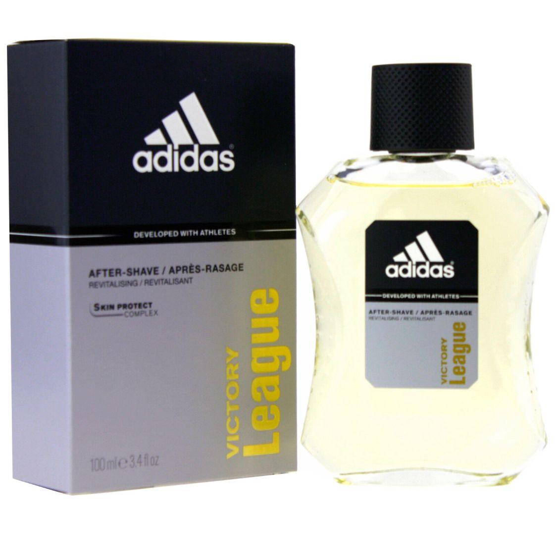 2 x 100ml Adidas Aftershave Victory League Rasierwasser Aftershave Herrenpflege