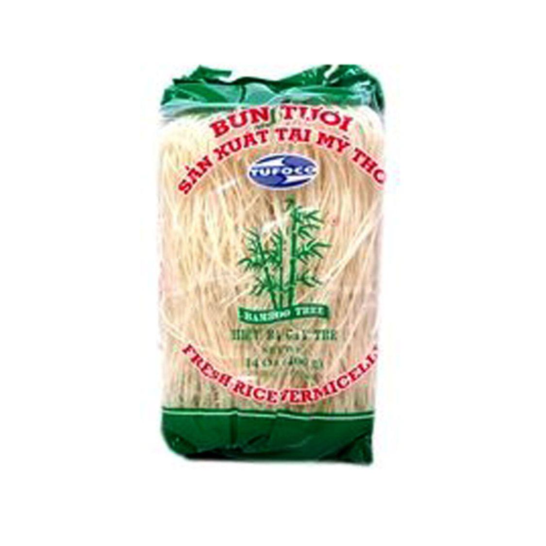 400g Vietnamesische Reis Nudeln Bún Tuoi Vietnamese Rice Vermicelli Bamboo Tree