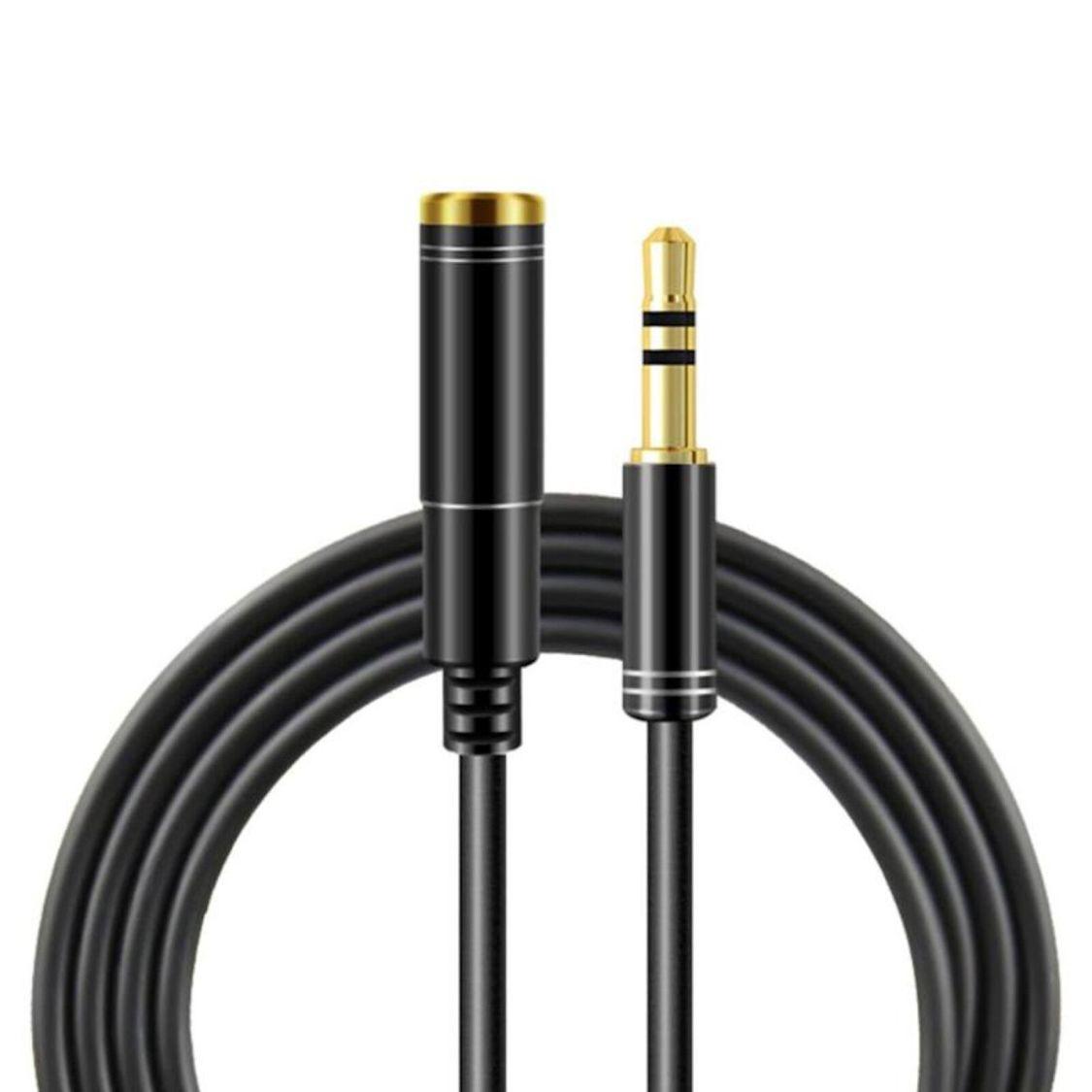 3m Audio Stereo Kopfhörer Verlängerungskabel 3,5mm Klinke Stecker > Buchse Schwa