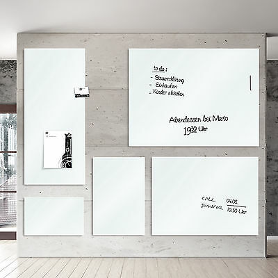 Glasboard, Magnettafel, Memoboard, Memotafel LISSABON, div. Größen