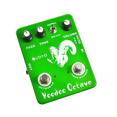 JOYO JF-12 Voodoo Octave Fuzz Guitar Effect Pedal