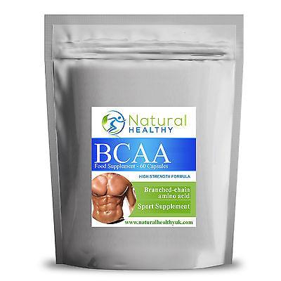 Bcaa Verzweigtkettige Aminosäuren - Muskel Wachstum Stütze - Fettarm und Stark
