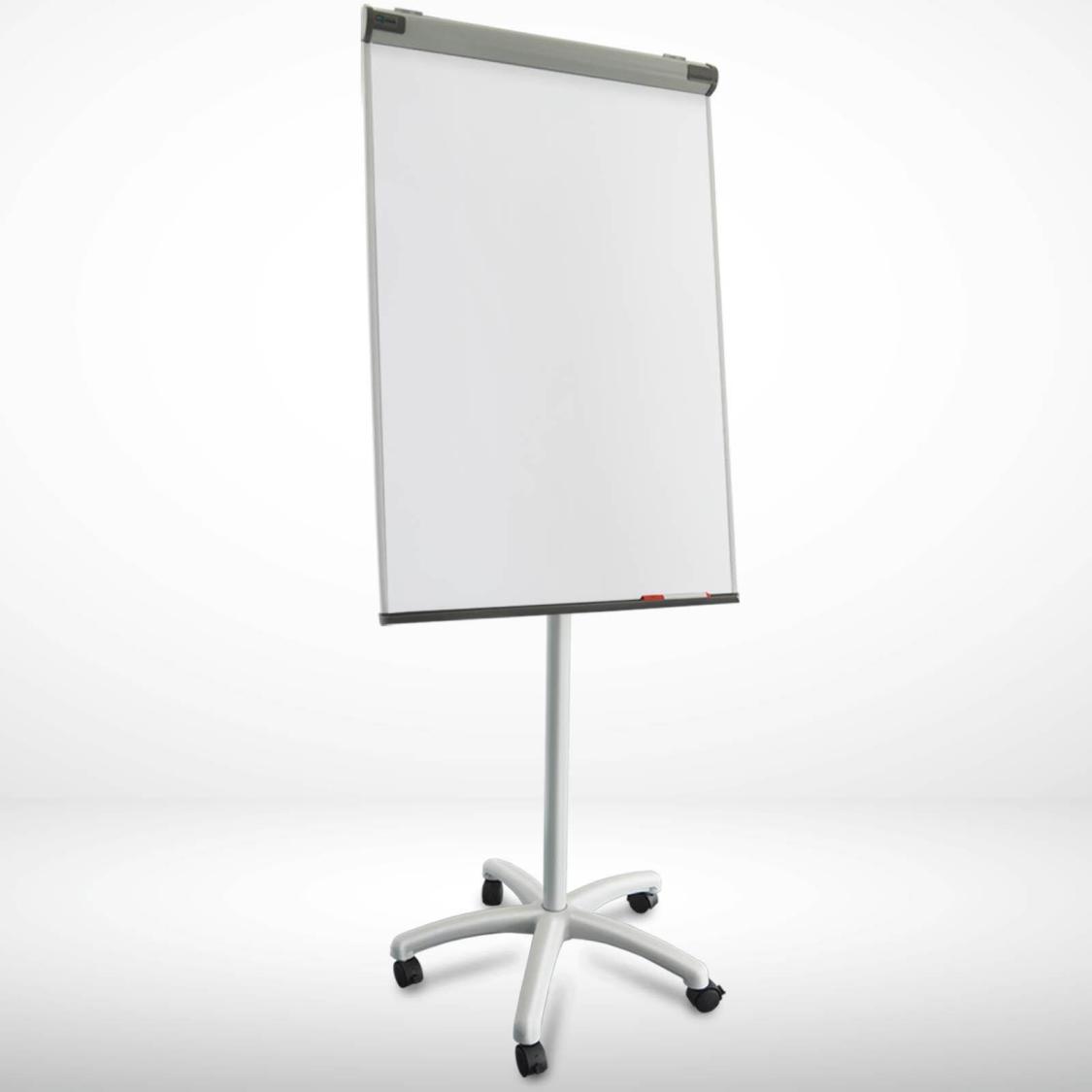 Flipchart Whiteboard Mobil Piranha Sternfuß Höhenverstellbar Universal Papier