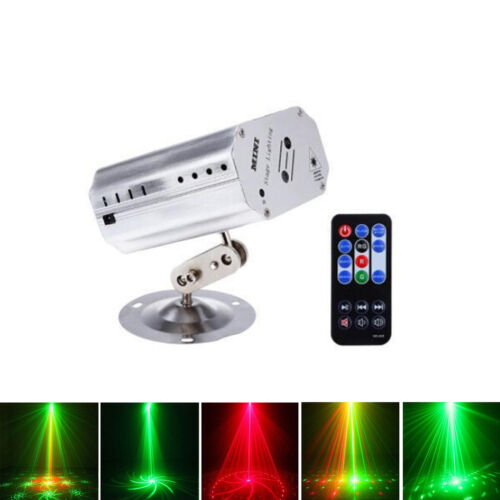 12 in 1 RGB LED Bühnenbeleuchtung DJ Party Stadiums Disco Laserlicht Muster Show
