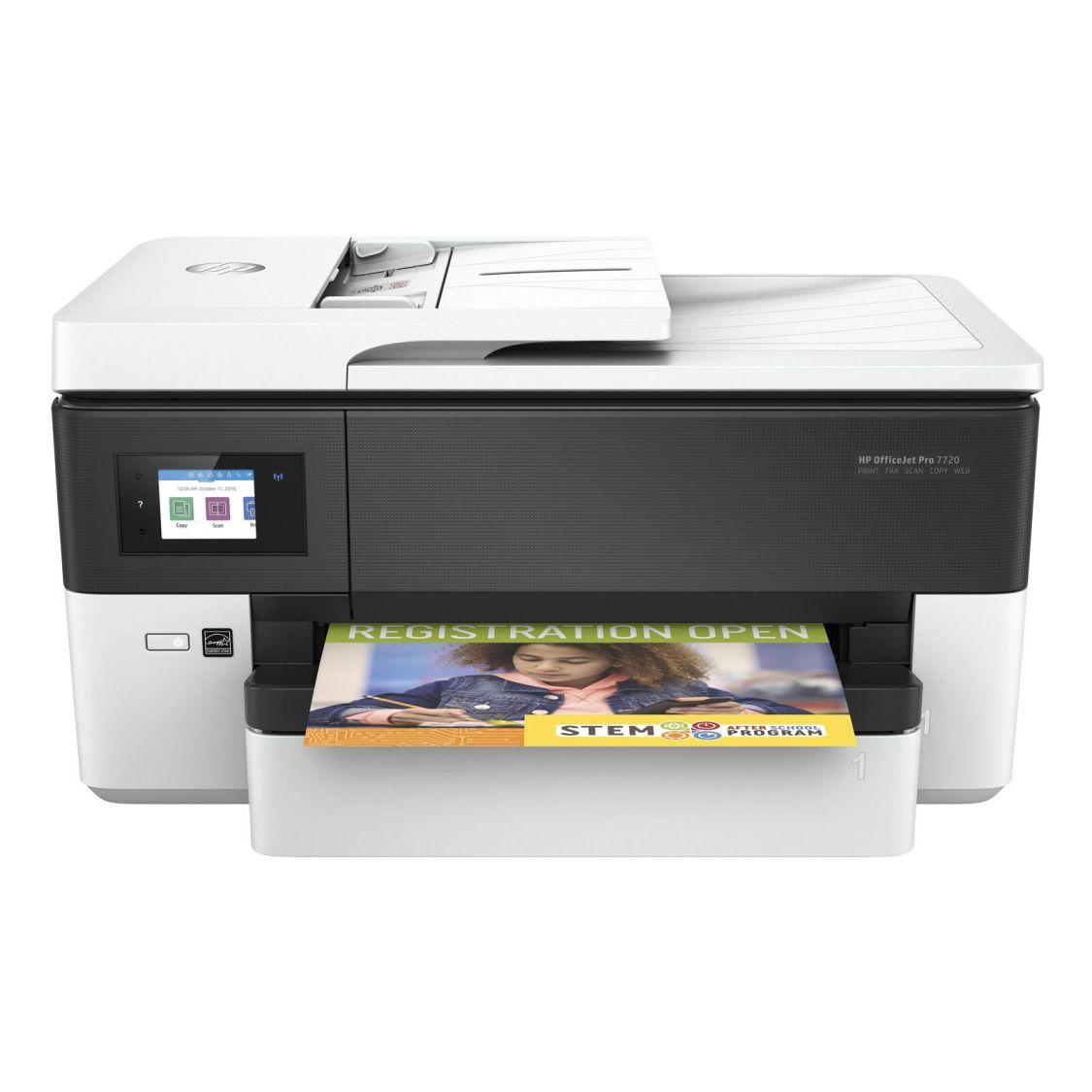 HP Officejet Pro 7720 4-In-1 Multifunktionsdrucker WLAN Tintenstrahl DIN A3