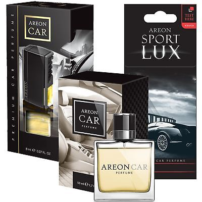 ★LUX★ Areon Lufterfrischer Set VIP Parfüm Duftbaum Autoduft Autoparfüm nach Wahl
