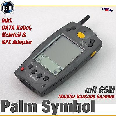 KABELLOSER MOBILER PALM SYMBOL SPT-1834 SPT1800 BARCODESCANNER IP54 GSM UMTS OK