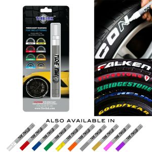 Tire Ink Permanent Marker For Tire Lettering Paint Pen USA Seller