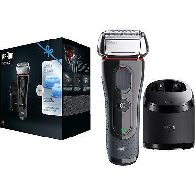BRAUN Series 5 5050cc Elektrorasierer Limitierte Auflage mit Clean&Charge-Statio