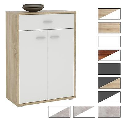 Kommode Sideboard Schrank in verschiedenen Farben 2 Türen Anrichte Highboard