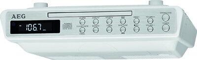 AEG Unterbauradio Unterbau-Küchenradio mit CD-Player Werkstattradio Timer Wecker