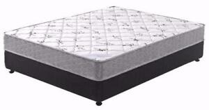 2 Pc Queen Size Mattress And Box 298
