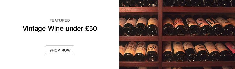 Vintage Wine Under £50