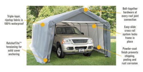 Shelter Logic 12x20 EBay