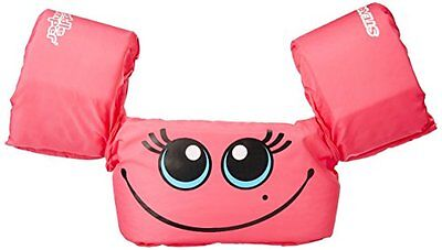 NEW Stearns Puddle Jumper Basic Child Life Jacket Pink Smile FREE SHIPPING